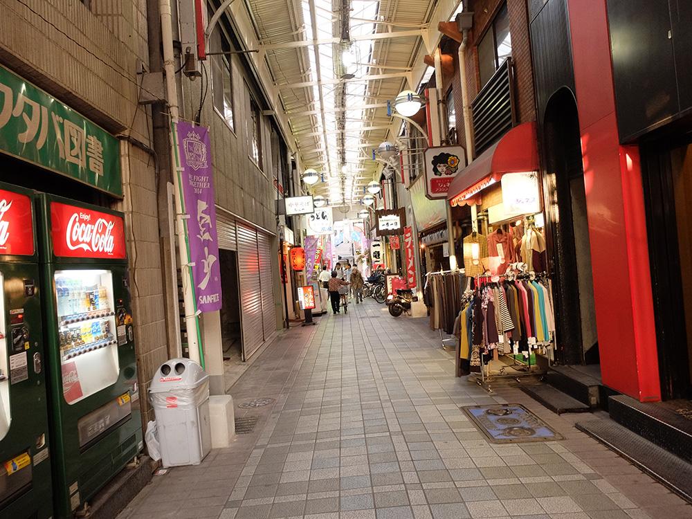 Yokogawa shotengai