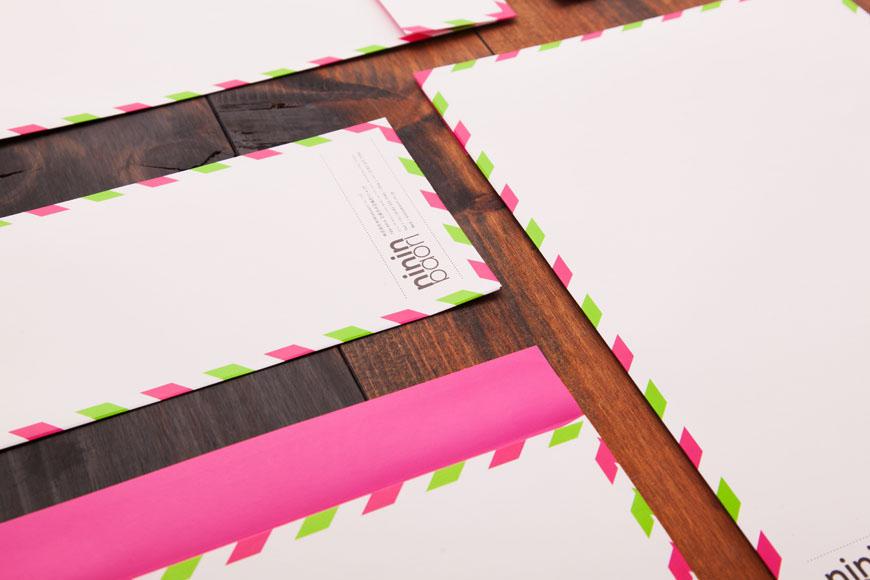 Nininbaori - enveloppes