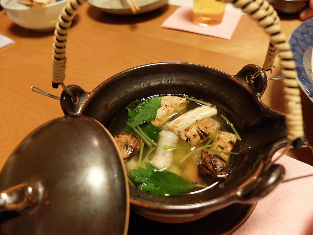 bouillon de maitake
