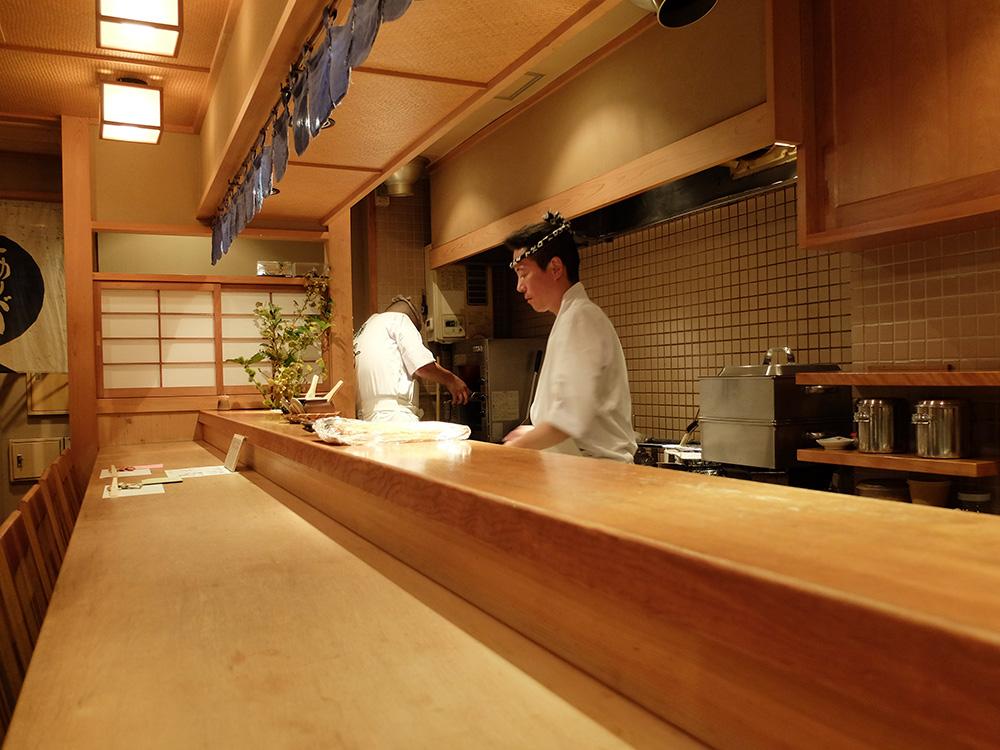 restaurant de shushi à Hiroshima