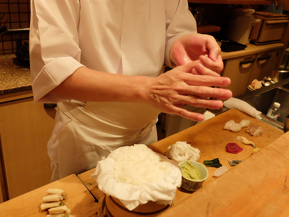 fabrication de sushis