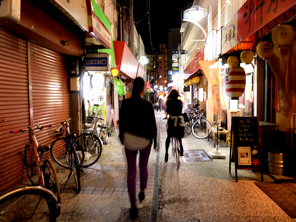Yokogawa Hoshi-no-michi by night