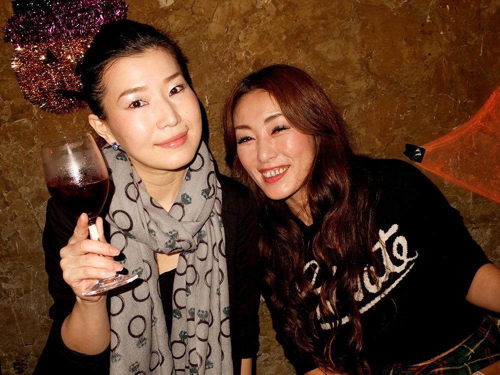 Miwa et Mami à Edge