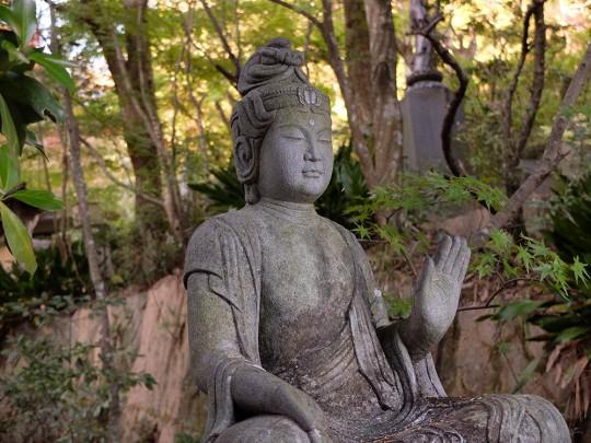 Statue Kannon à Mitaki