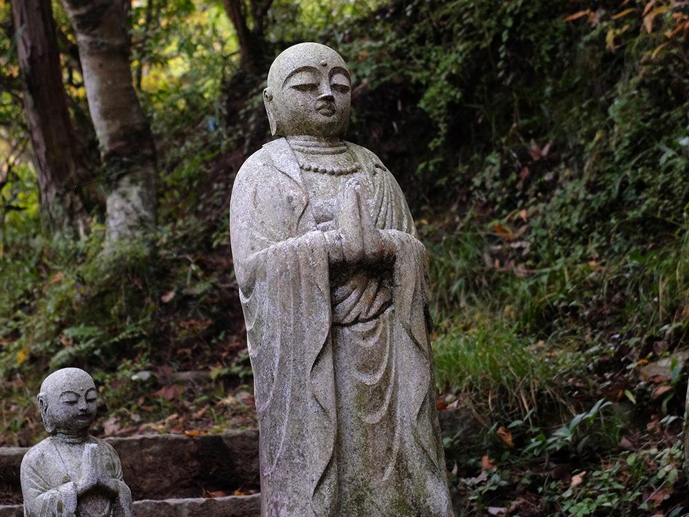 Statuette bouddhique à Mitaki