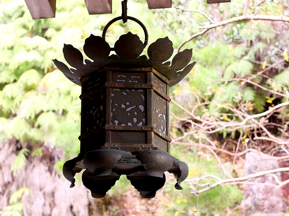 lanterne de temple