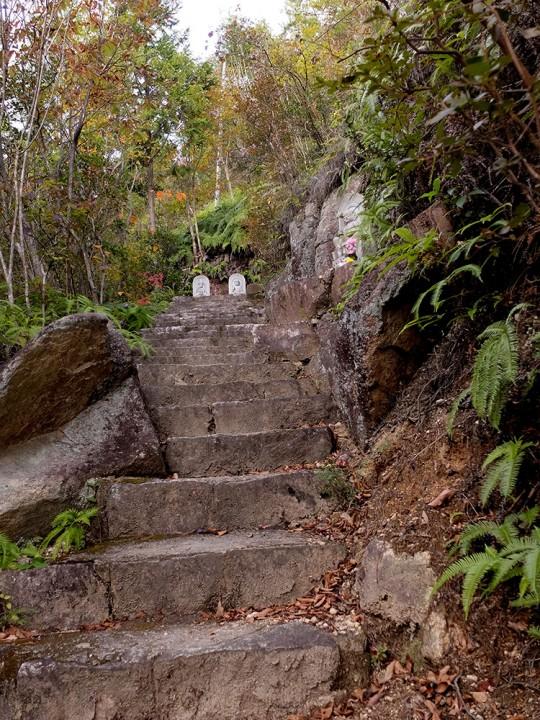 Montée vers le sommet de MItaki