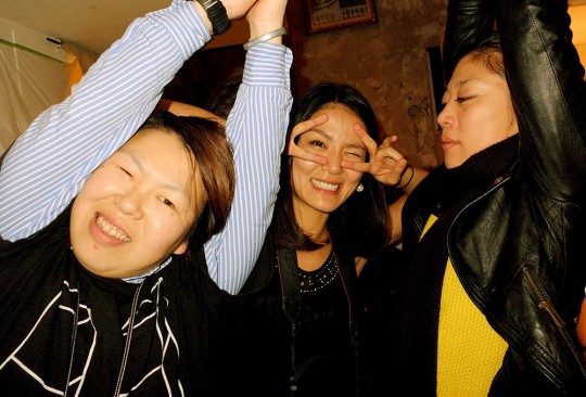 Tama, Kotoe et Pon