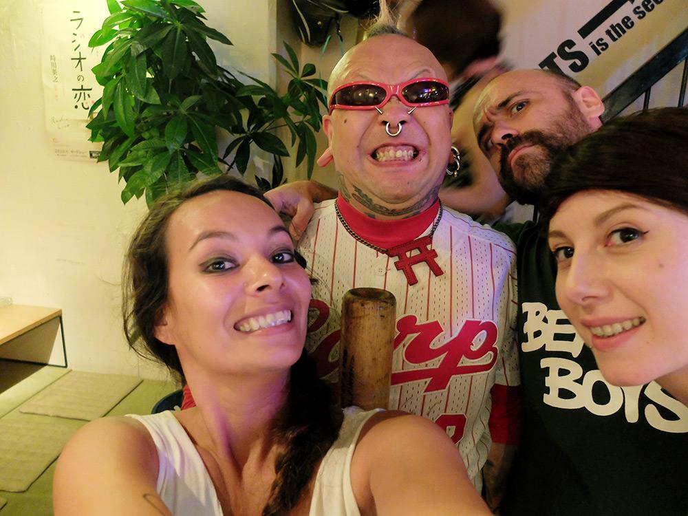 Anais, Pedro, Potty et moi