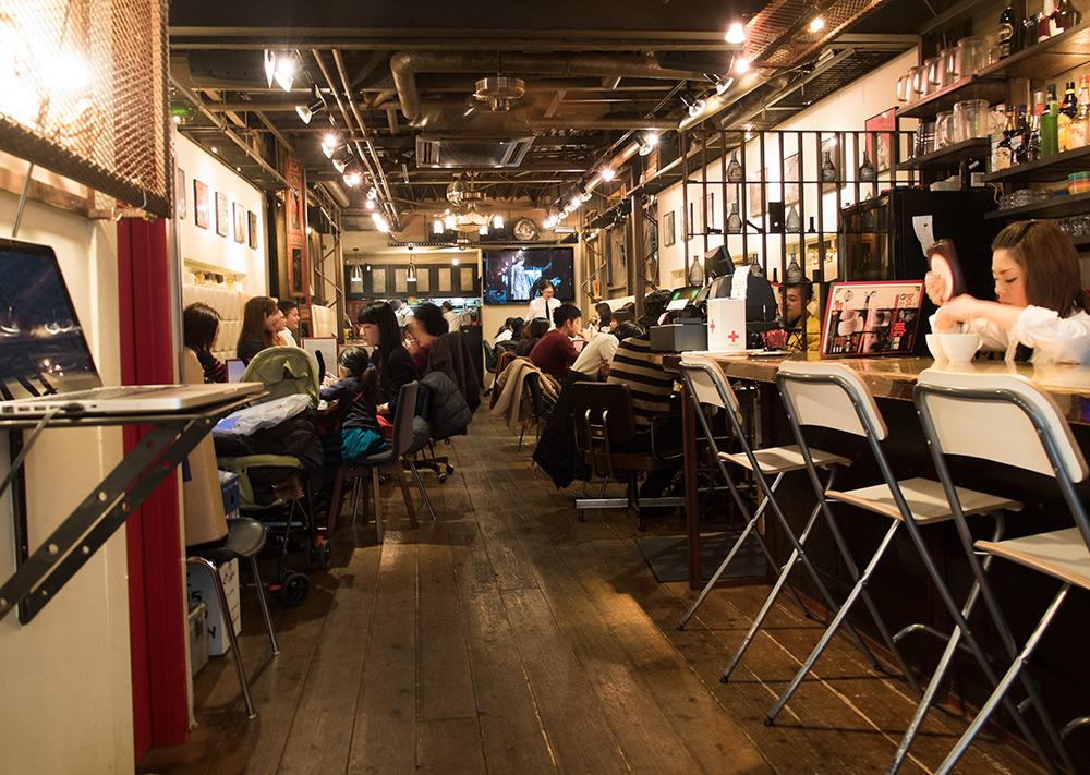 Intérieur du Café New York New York
