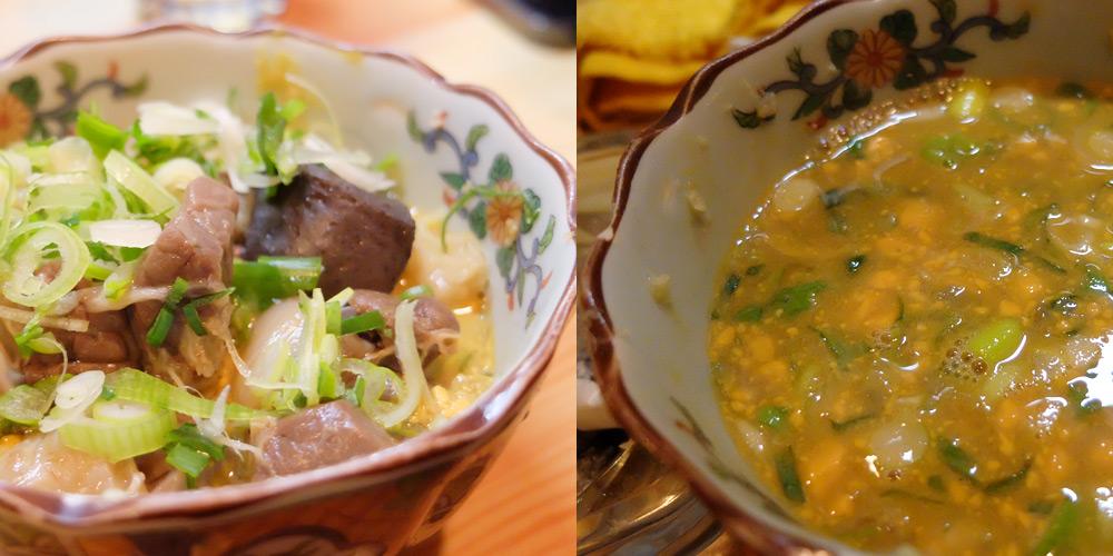 Soupe oden à Osuga, Hiroshima