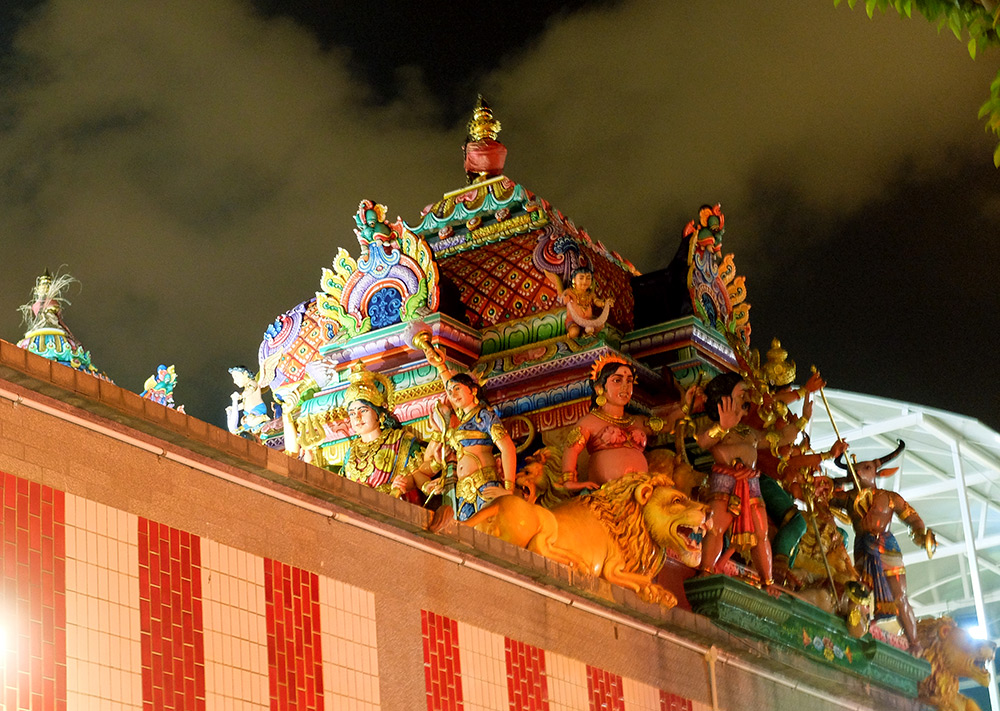 Temple Sri Veeramakaliamman Little India Singapour