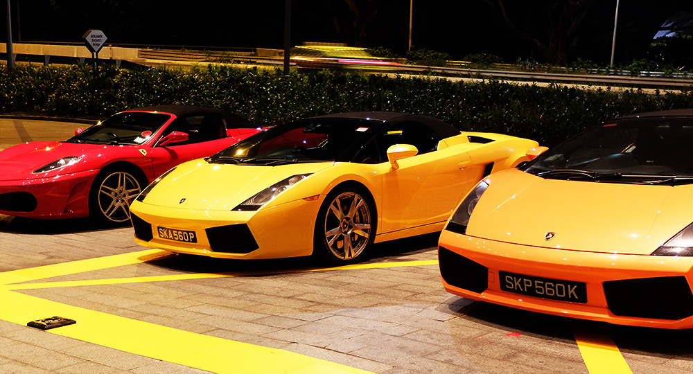 ferrari Marina Bay Sands