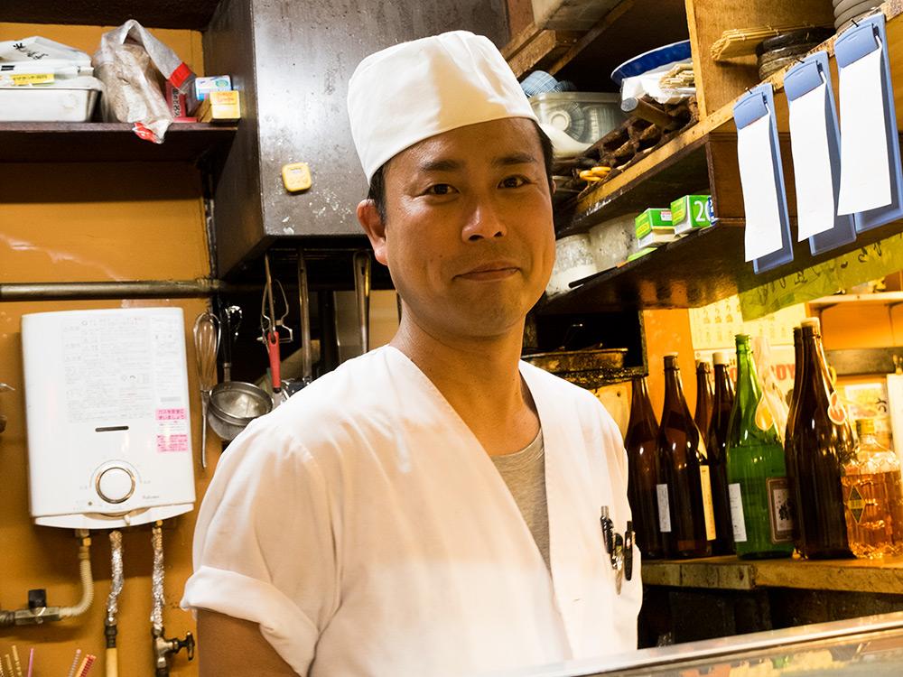 chef sushi Ganko Yatai