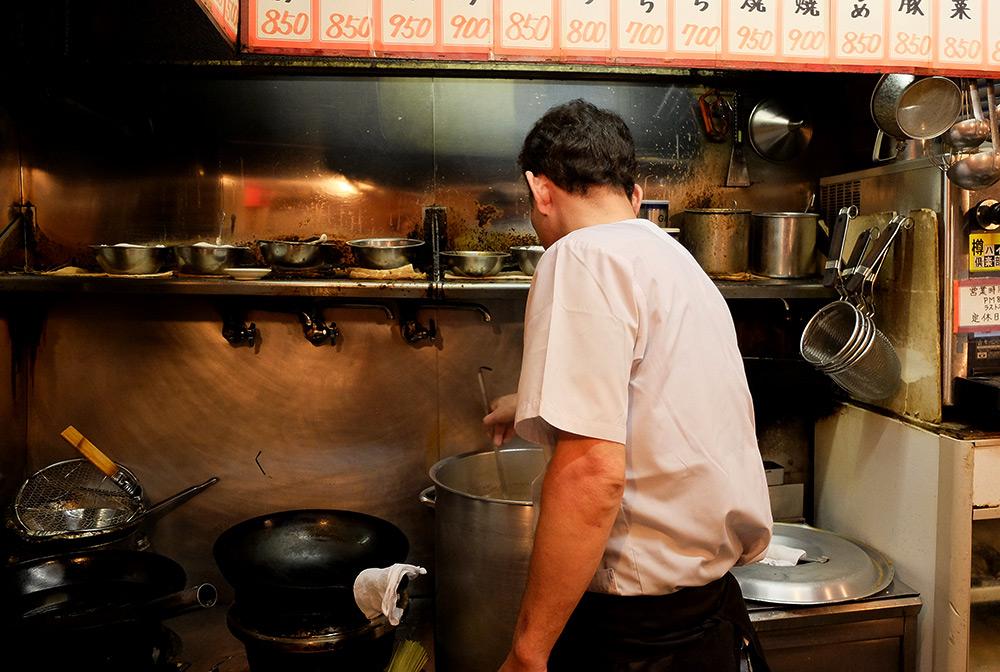 cuisine de Heiwa-en