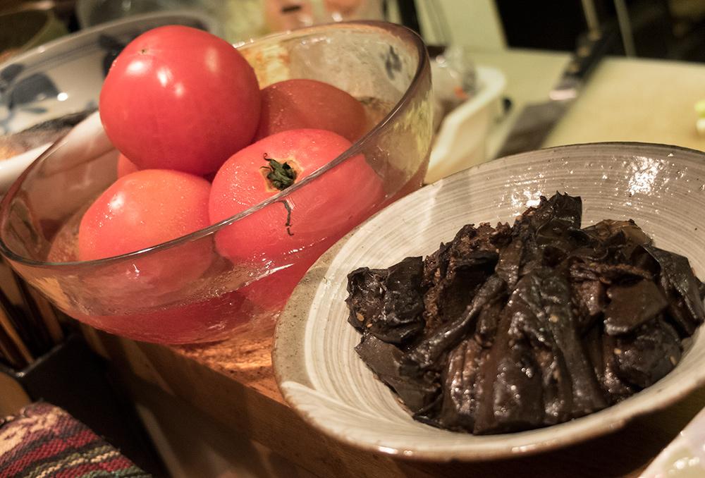 petits plats à CHoiChoi-ya Hiroshima