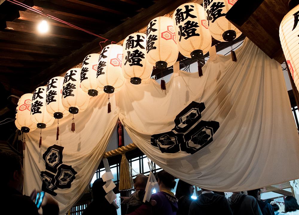 Entrée du sanctuaire 広瀬神社Hirose Jinja