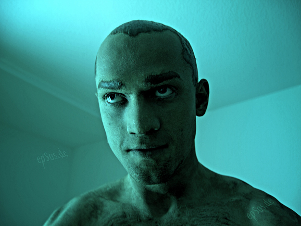 photo credit: Crazy Blue Man in Scary Robot Makeup via photopin (license)
