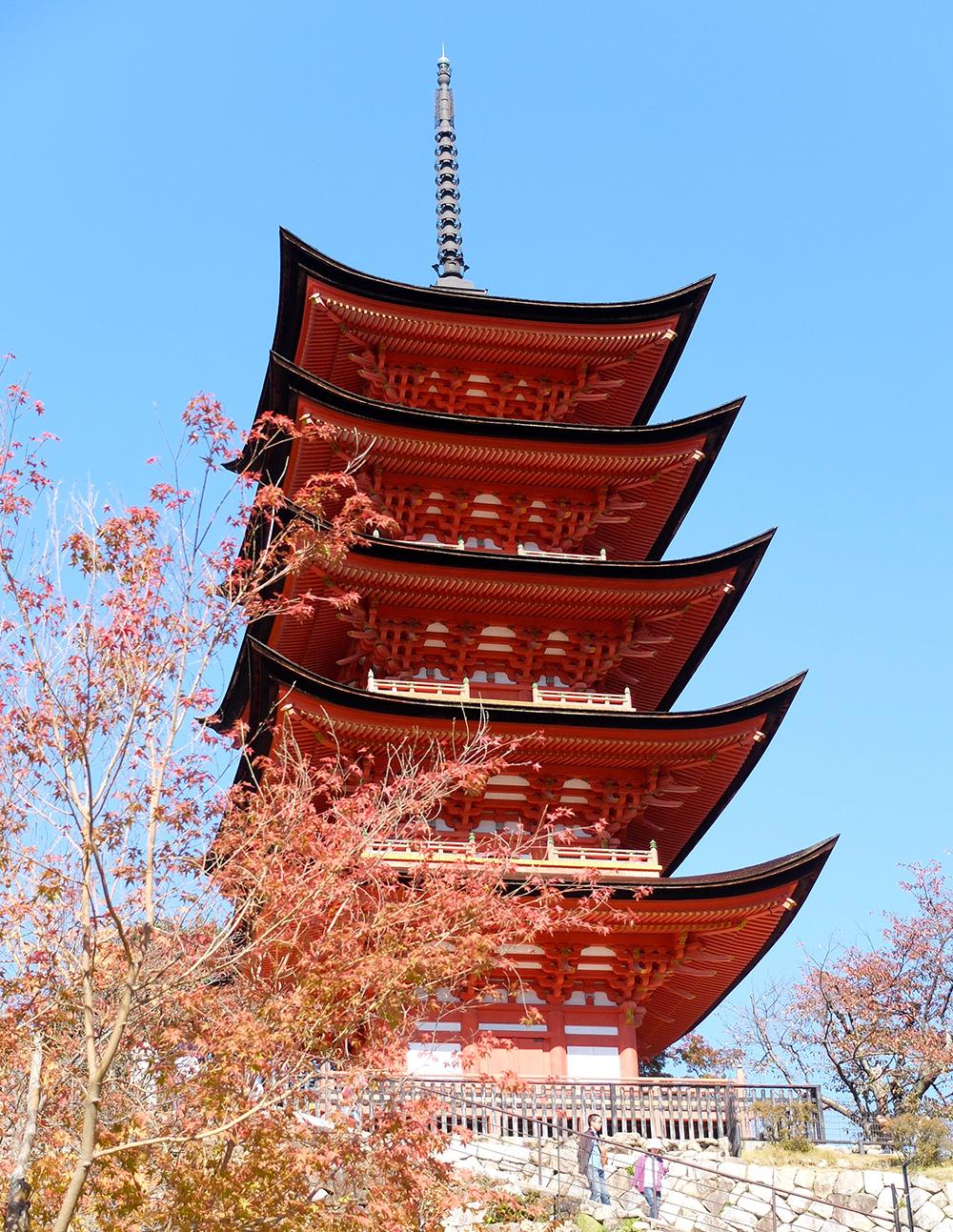 五重塔 la pagode à 5 étages