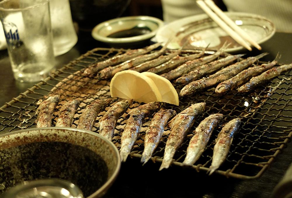 Petites sardines grillées, Hiroshima