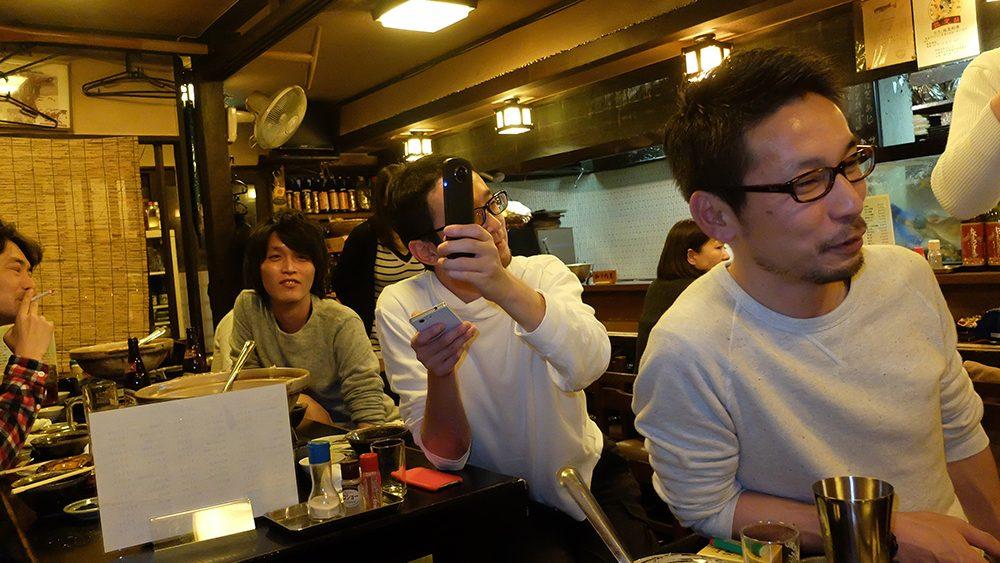bōnenkai dans un izakaya à Hiroshima