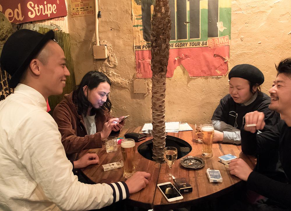 Rub-a-dub, bar reggae à Kyoto