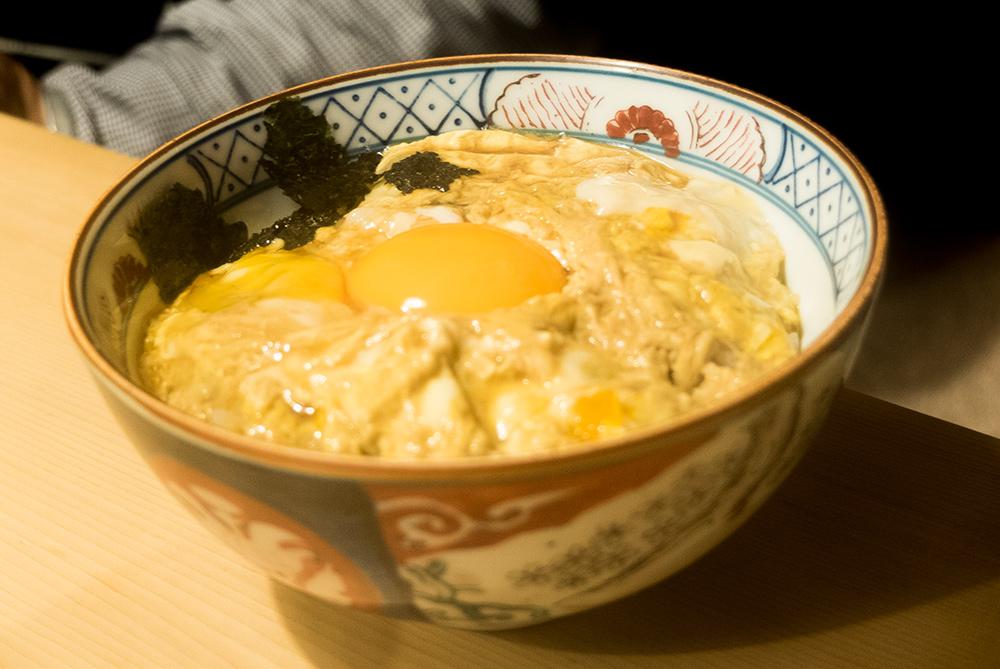 Tamagodon (玉子丼 Bol de riz à l'oeuf)