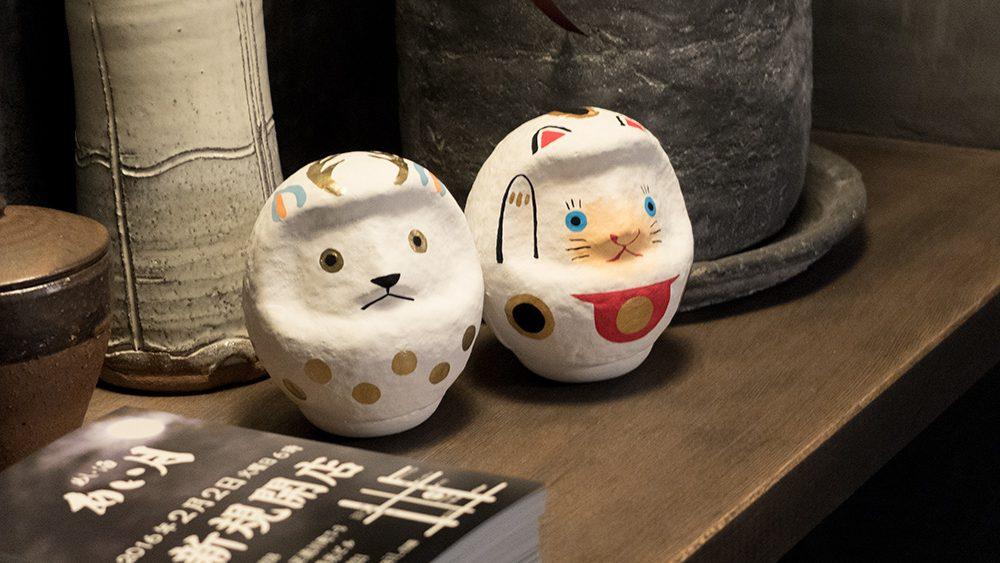 décoration de l'izakaya Aitsuki あい月 à Hiroshima