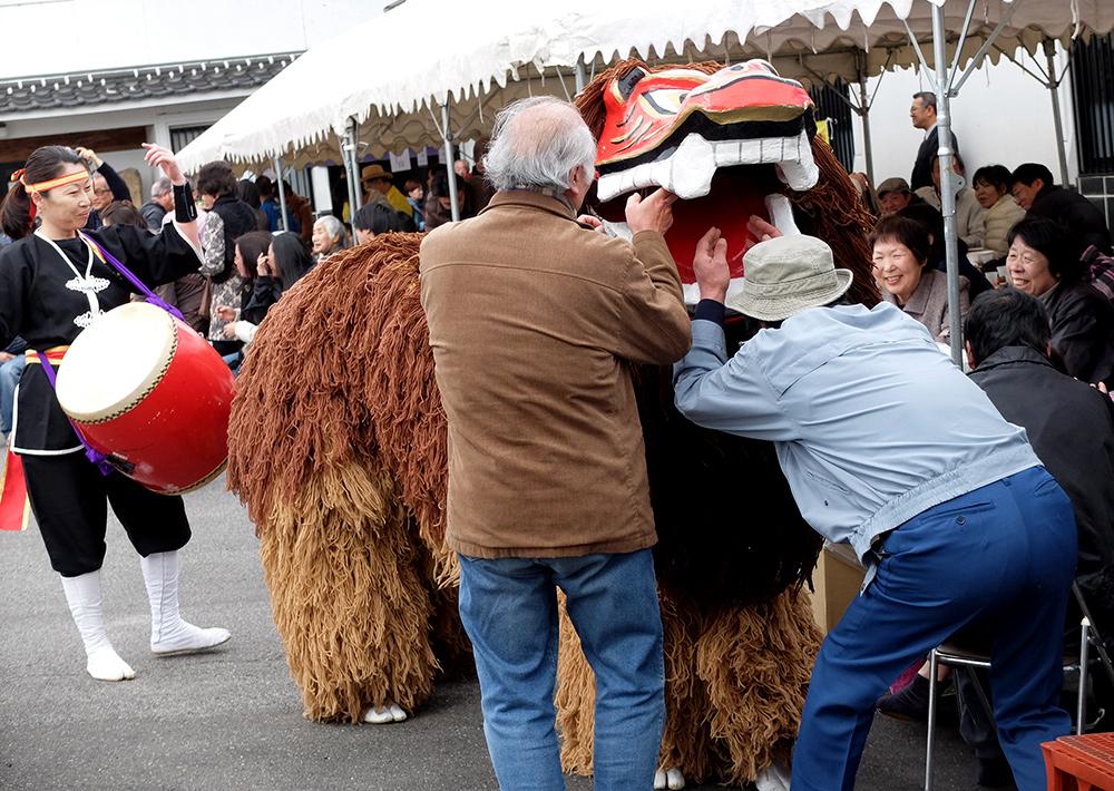 Danse du lion 獅子舞 shishimai