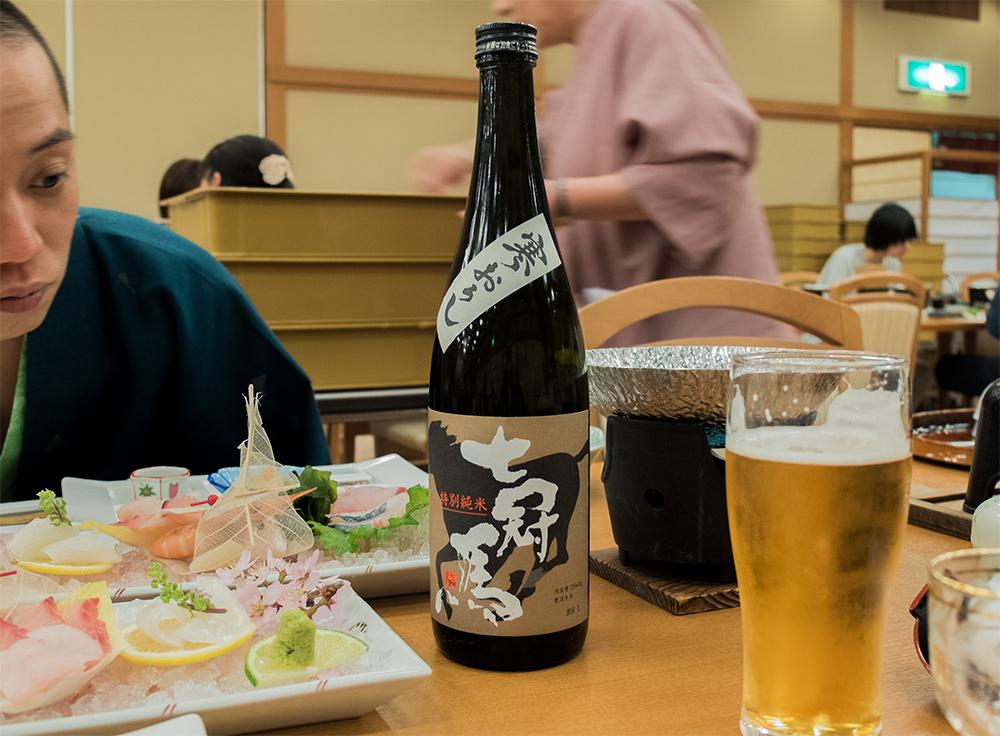 Saké Nanakanba (七冠馬), saké de la préfecture de Shimane