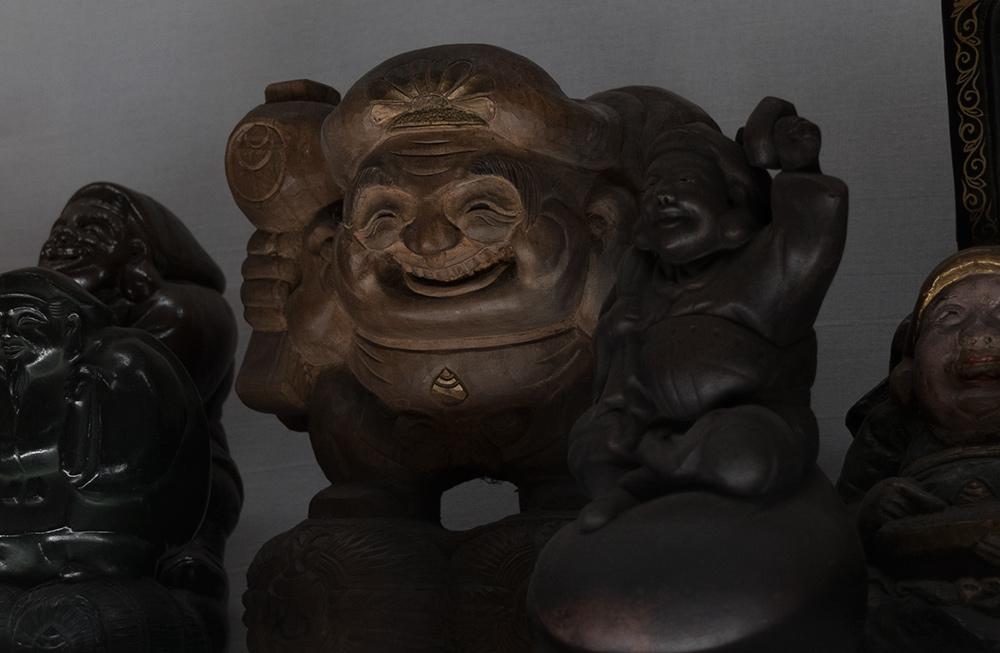statues de Daikoku (大黒), l'une des 7 divintés du bonheur