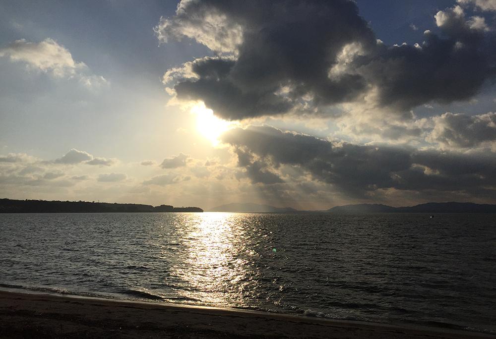 Lac Shinjikō 宍道湖 Tamatsukuri Onsen, Préfecture de Shimane