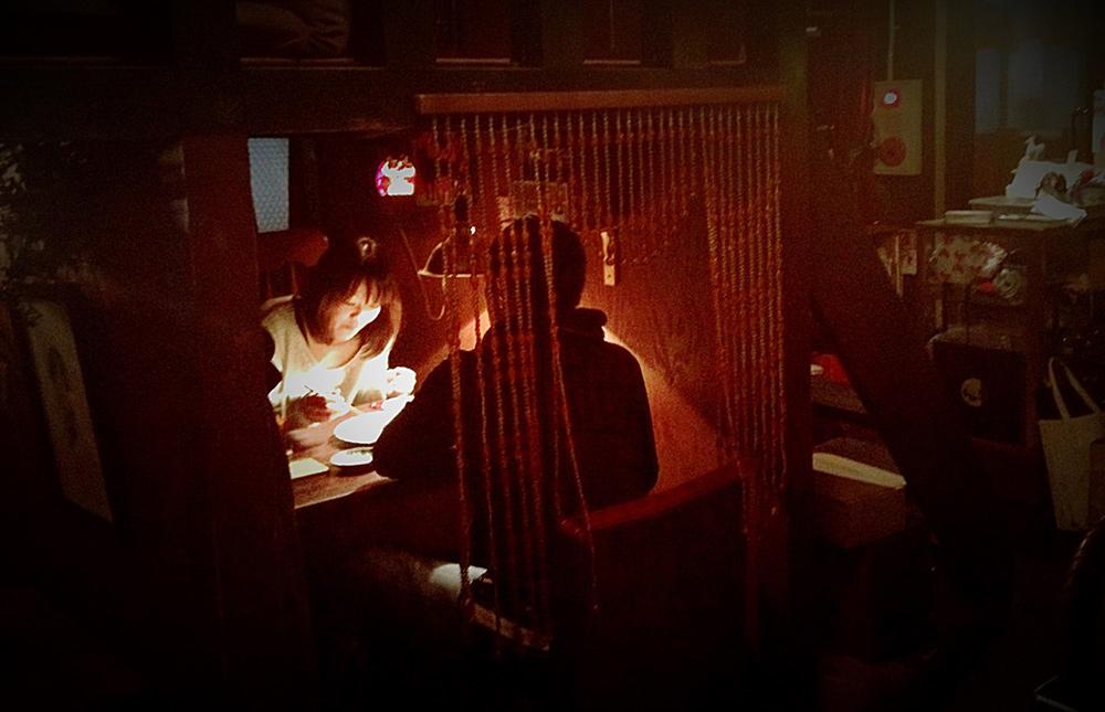 Organ-za, le restau-café-concert d'Izumi, inspiré des années 30, Hiroshima