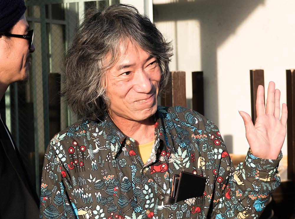 portraits de gens d'Hiroshima : Mac-san, la légende, un vieux baroudeur, proprio du bar Mac, Hiroshima