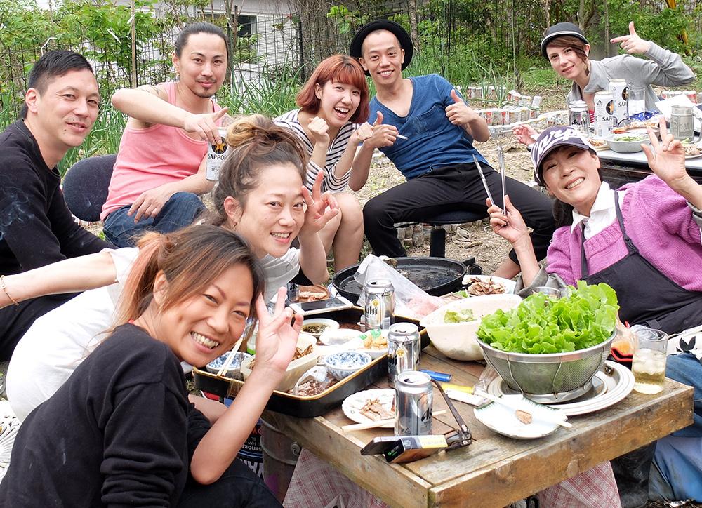 barbecue et cuisine coréenne entre amis au Japon, Hiroshima