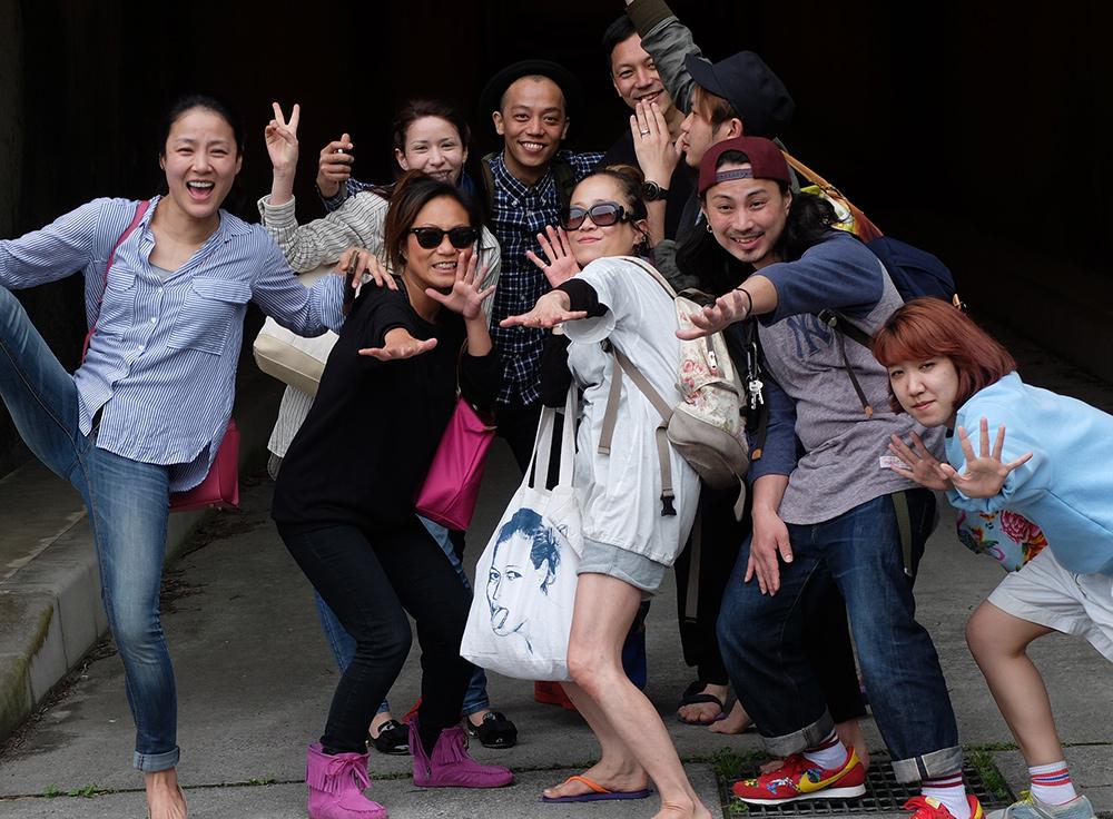 photo de groupe, Japon, japonais
