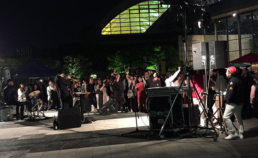 Live de The Johnny Freelance Experience à Pacela, Hiroshima