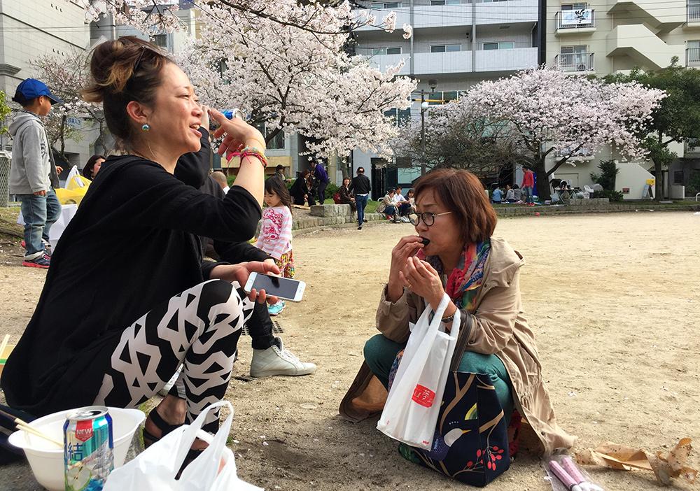 Shiho et Mamako, Hiroshima