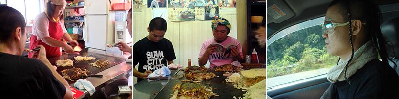 Okonomiyaki & manga chez Mori Hiroshima 2006