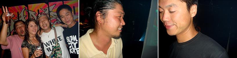 Soirée Drum & Bass à Border Hiroshima 2006