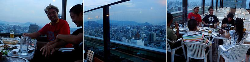 Beer Garden ANA Hotel Hiroshima