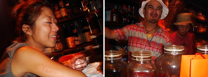 soirée au Buddha Bar Hiroshima 2006