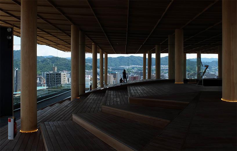 Miroirs Hiroshima Orizuru Tower
