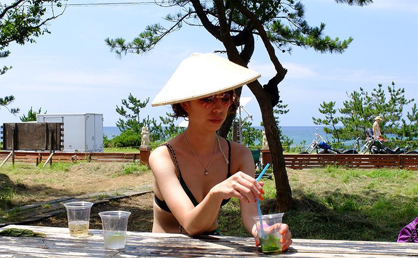 Terrasse Regolith Hamada Japon