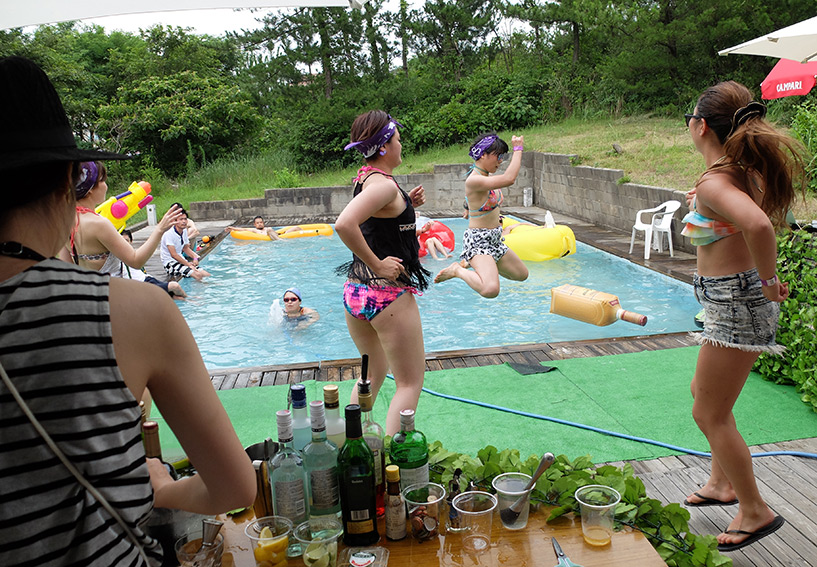 piscine Japon Pool Party