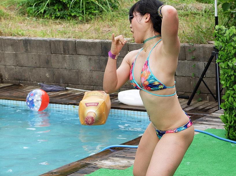 Danseuse dancehall japonaise