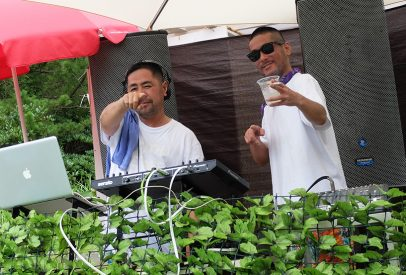 Sleepy eye dj's Hiroshima à Pool Party Hamada