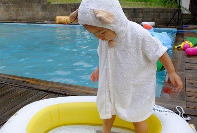 petite fille japonaise capuche ourson
