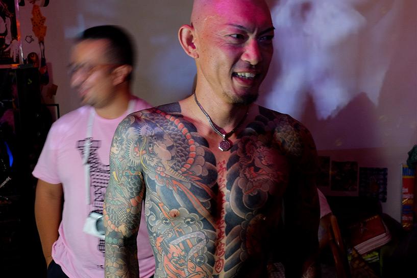 Japonais tatouage