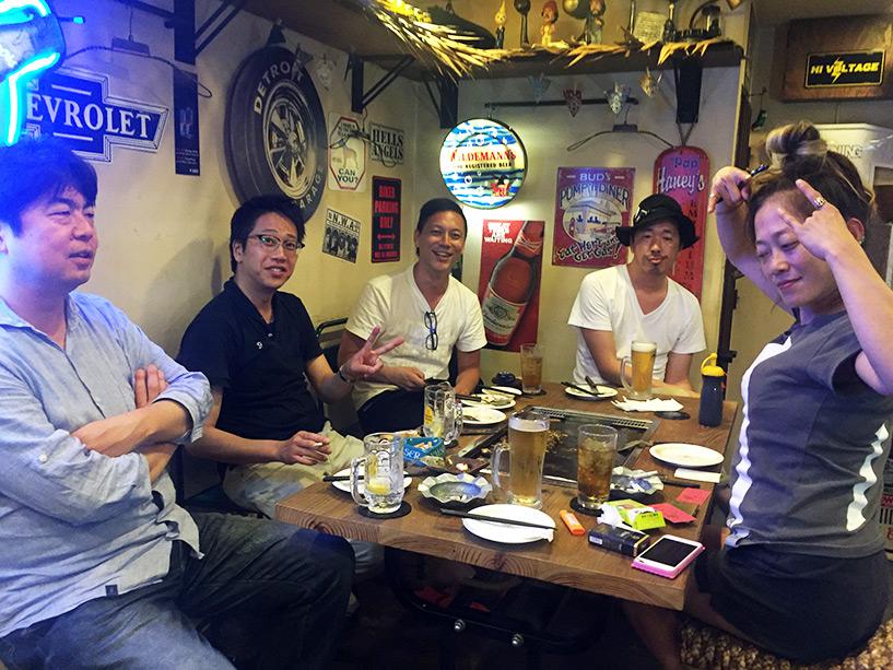 Rencontre avec l'équipe de tournage toyoïte de l'agence FILM au Teppan Dōjō